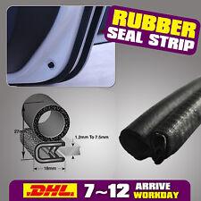 Rubber Seal Car EDGE TRIM- Boot Door Window - Waterproof Universal 05# 2M Black