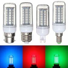 Red/Green/Blue E27/E14/G9/B22 48 SMD 5050 LED Light Corn Bulb Lamp 220/240V New