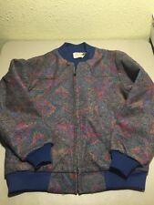 Vtg Southwestern Rock-Billy SADDLE KING WESTERN Barn Jacket XL USA