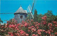 Historical Windmill Eastham Cape Cod Massachusetts MA Postcard