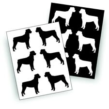S ROTTWEILER  dog decal for pet owner, bumper sticker or wall decor