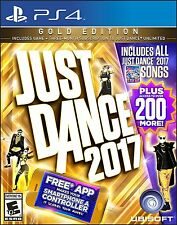 Just Dance 2017 Gold Edition (Sony PlayStation 4, 2016)