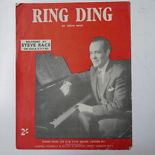 piano solo RING DING steve race