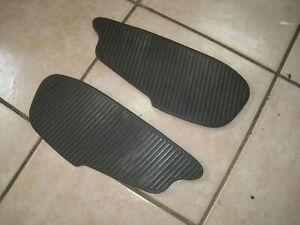 Gilera Runner SP 50 Gummi Matten Verkleidung Trittbrett Auflage rubber mat gomma