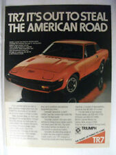 Triumph British Car & Truck Advertising Collectables