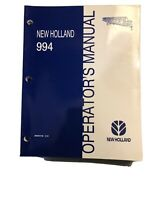 New Holland Grain Belt Header 994 Operator's Manual *46-49, 409