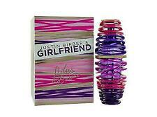GIRL FRIEND By JUSTIN BIEBER'S WOMEN PERFUME SPRAY 3.4 OZ 100 ML NEW UNBOX