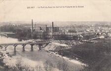 Carte postale ancienne GOLBEY filature de la gosse écrite 1915