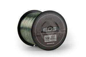 Fox EOS Monofilament Line Low Vis Green NEW Carp Fishing *All Breaking Strains*