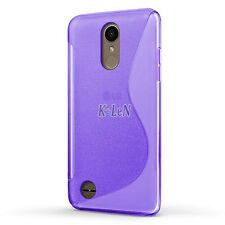 For LG K4 2017 / LG LV1 Case S Line Soft Gel TPU Silicone Case Skin Cover