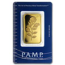 1 oz Gold Bar - PAMP Suisse Rosa (In Assay) - SKU #62392