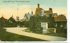WEST NEWBURY,MASSACHUSETTS-INDIAN HILL FARM-PM1948-(MASS-N)
