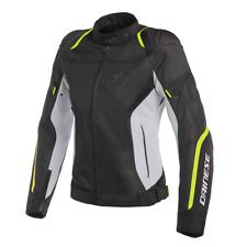 New Dainese Air Master Tex Jacket Women's EU 40 Black/Grey/Yellow #2735201Z0240