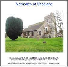 Snodland, Kent (All Saints,Christ Church,Cemetery& NonConf), +Census-Transcripts