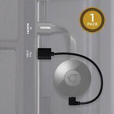 Chromecast USB Cable. Designed to Power Your Google Chromecast HDMI Streaming Me