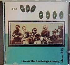 THE NUT MEGS live at the cambridge armory 1973 -  CD doo wop