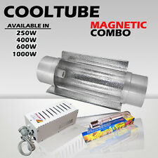 Hydroponics Cooltube Magnetic Ballast and HPS lamp Grow Light(250,400,600,1000w)