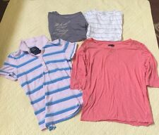 American Eagle Outfitters Lot Set Of 5 Shirts Ladies Size Large