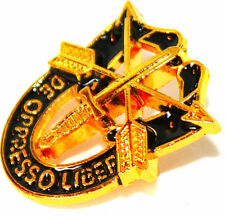 SPECIAL FORCES CREST SF Hat Pin DE OPPRESSO LIBER GOLD 02