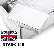 10 X NFC PVC NTAG216 Cards – Samsung Android Windows Nokia LG G4 HTC