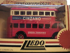 LLEDO DG15 005A 1932 AEC REGENT DOUBLE DECK BUS - CINZANO - LONDON TRANSPORT