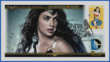 Wonder Woman (5149-5152) DC Comics... First Day Cover 2016 Movie #242 NEW!