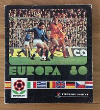 Panini Euro 80 Europa 1980 Complete No Writing No Loose Pages