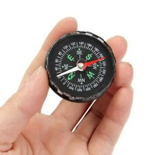 Camping Outdoor Survival Liquid Filled Button Design Compass for Climbing Hiking