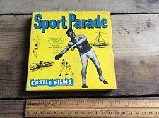 Vintage 8mm Film Reel , Sports Parade 391 Fighting Fish  Castle Films