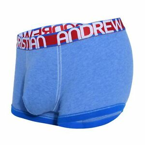 Andrew Christian Almost Naked Cotton Boxer men's enhancing pouch underwear short
