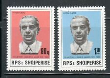 ALBANIA Sc 2159-60 NH ISSUE OF 1985 - H.KAPO