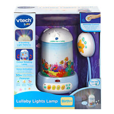 VTech Lullaby Lights Lamp With Songs & Melodies Rotating Suitable From Birth