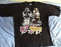 Buffalo Bills / Washington NFL Super Bowl XXVI 1992 T-Shirt L Large 100% Cotton