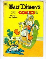 Walt Disney's Comics & Stories 123 GVG (3.0) 12/50