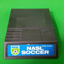 Intellivision Nasl Soccer 1979 Two overlay cards USA Video Games Retro