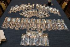Eloquence by Lunt 65 piece Sterling Silver Complete Flatware Set for 12 +Servers