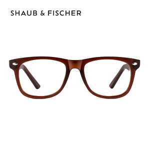 Shaub & Fischer Brown Reading Glasses +0.50 to +6.00