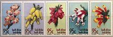 RSA SÜDAFRIKA SOUTH AFRICA 1994 944-48 Glockenheiden Flowers Blumen Flora MNH