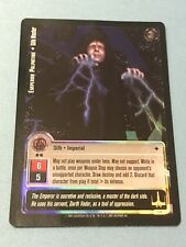 Emperor Palpatine Tournament FOIL Promo 1P Jedi Knights TCG CCG Star Wars