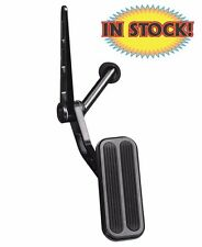 Lokar Midnight Series Black 55-57 Chevy Gas Pedal with Rubber Insert - XBAG-6074