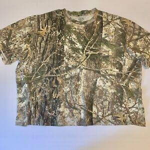 Cabela's Zonz Woodlands Men's Short Sleeve Hunting Shirt - Color Phase 3XL
