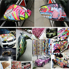 10pcs/lot Sticker Bomb Decal Vinyl Roll Car Skate Skateboard Laptop