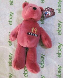 NWT PRO BEARS LIMITED TREASURES NFL FOOTBALL STEVE YOUNG #8 SAN FRANCISCO 49ERS