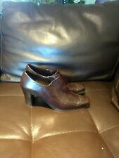 Franco Sarto brown womens shoes on the hill size 8,5