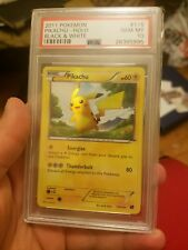 Psa 10 Pikachu Holo Secret Rare 2011 Pokemon Card 115/114 Black & White GEM MINT