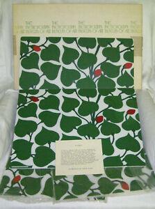 "VINTAGE 4pc SET METROPOLITAN MUSEUM OF ART WIENER WERKSTATTE ""PLACEMATS""1976+BOX"