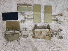 Spiritus Systems Custom Micro Fight Multicam Arid with Axl and Sack Pouch