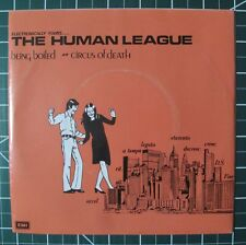 German IMPORT 45 RPM & Picture Sleeve Human League Being Boiled bw Circus 1980