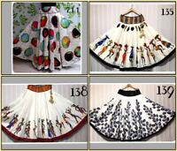 Asian Arab New Ladies Long Skirt With Flare Designer Bollywood Indian Tradition