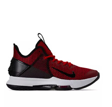 Nike LeBron Witness 4 IV Basketball Sneakers Red/ Black NEW BV7427 002 Zoom Air
